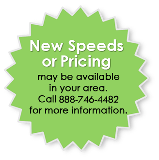 New Speeds or Pricing