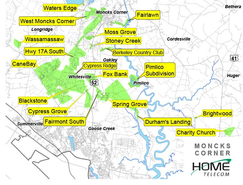 Moncks Corner - Velocity Neighborhoods