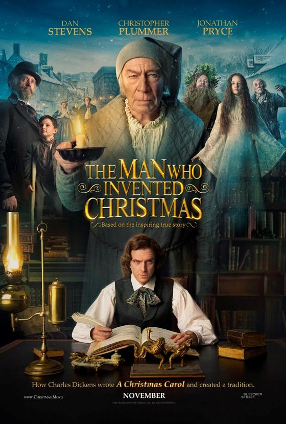 The Man Who Invented Christmas - Now Playing on Demand