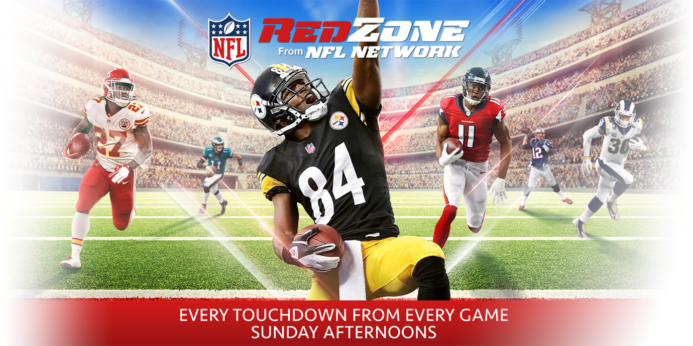 RedZone from NFL Network: Every touchdown from every game, Sunday afternoons