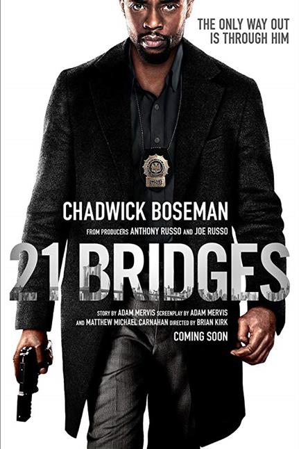Watch the trailer for 21 Bridges - Now Playing on Demand
