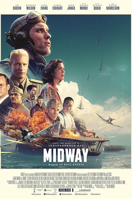 Watch the trailer for Midway - Now Playing on Demand