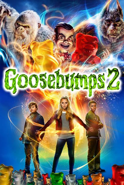 Watch the trailer for Goosebumps 2 - Now Playing on Demand