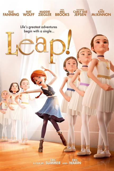 Watch the trailer for Leap! - Now Playing on Demand