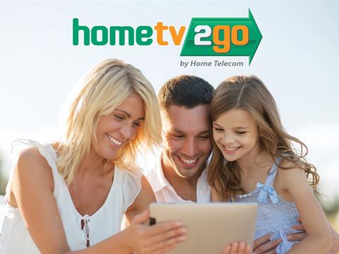 "With Home Telecom's ""HomeTV2Go"" you can watch whatever you want, wherever you want, whenever you want!"