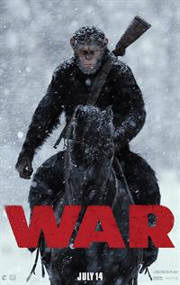 War for the Planet of the Apes - Now Playing on Demand
