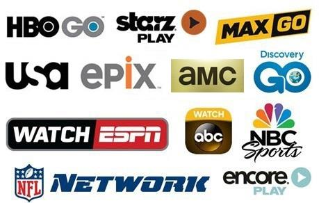 Featuring HBOGO HBO MAX, USA, ePIX, Bravo, Syfy, CNBC and much more